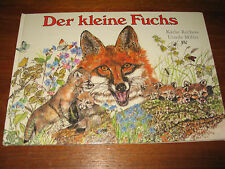 E441)KINDERBUCH DER KLEINE FUCHS KÄTHE RECHEIS/URSULA MILLER JUGEND&VOLK EA 1989