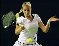 Olga Poutchkova signed 8x10 photo Puchkova Tennis a Proof