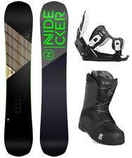 Nidecker Play 162 WIDE Snowboard+FLOW Bindings+Nidecker BOA Boots NEW - 2020