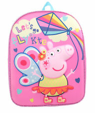 Peppa Pig Festival of Fun Fly a Kite Pink Childrens Backpack School Bag