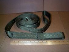 Recovery Tow Strap, Nylon, Military,15ft, w/loops, New-2ea-