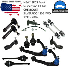 New 19Pcs Front Suspension Kit For Chevrolet Silverado 1500 4Wd 1999-2006