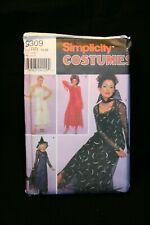 Simplicity Sewing Pattern 9309 - Women's Witch, Angel, Costume  - Size 14-20