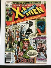 X-Men 111 (1978) Very Fine- (VF-) 7.5 Mesmero; Magneto