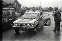 Photo Esa Nuuttila and Ilkka Kivimäki Opel Ascona 1972 RAC Rally