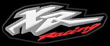 HONDA XR RACING iron-on patch ricamate
