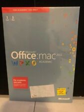 Microsoft Office 2011 for Mac Academic Edition 1 User/1 Mac