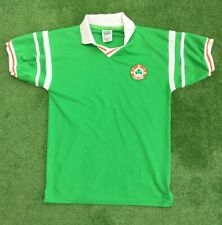 REPUBLIC OF IRELAND FOOTBALL HOME SHIRT 1988-90 SIZE SMALL ADULT