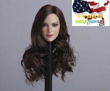 1/6 female head sculpt long Hair GC012 A for Phicen Hot toys Kumik ❶USA❶