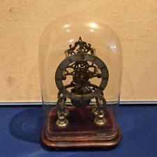 antique fusee skeleton clock