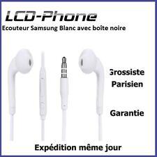 Ecouteur Samsung Blanc avec boîte noire