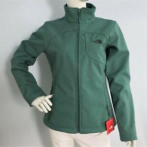 THE NORTH FACE Womens Apex Bionic Softshell Jacket Jasper Green Heather sz S , M