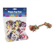 Dog Chew Toys Play Puppy Knot Fun Tough Strong Throw Pet Tug War Fetch Ropes