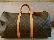 Authentic Louis Vuitton Keepall Monogram