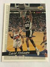 Card David Robinson UPPER DECK '93-94 NBA SIGNATURE MOVES #248