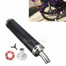 2 Stroke Racing Exhaust Muffler Silencer For Scooter ATV Go-kart Sport Dirt Bike