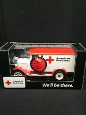 New limited Edition Ertl American Red Cross Bank with Key 1/25
