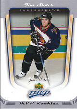 05-06 UPPER DECK MVP ROOKIE RC #428 JIM SLATER THRASHERS *7921