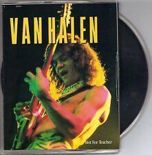 VAN HALEN  Hot For Teacher  rare 45 with Poster PicSleeve