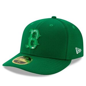 Boston Red Sox New Era 2021 St. Patrick's Day On Field Low Profile 59FIFTY