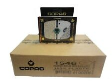 COPAG 1546 Black & Gold Poker Cards -  Regular Index - Case - 12 Double Decks
