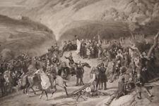ALGERIE VICTOIRE ARMEE FRANCAISE TENIAH DE MOUZAIA 1840 GRAVURE R1635