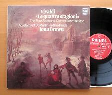 Philips 9500 717 Vivaldi The Four Seasons Iona Brown ASMF 1980 EX/NM + insert