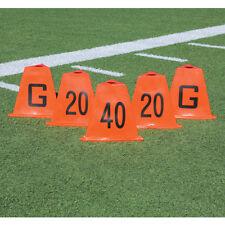 "Pro Down® Stackable Football Sideline Marker Set - 13""H, 3 Sided"