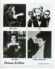 Faraway, So Close-8x10-U2-Nick Cave-Lou Reed-Laurie Anderson-VF