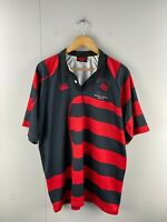 Canterbury Mens Short Sleeve Rugby Jersey Shirt XL 2011 Onkaparinga Members Red