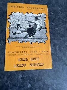 Hull Cuty V Leeds Utd Oct 1949