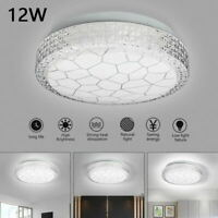 Bright Round White 12W LED Ceiling Down Light Wall Panel Bathroom Kitchen Lamp