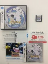 Pokemon Soul Silver CIB Nintendo DS Authentic Tested