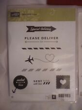Stampin Up Set With Love, cling mount rubber stamp set, perfect order