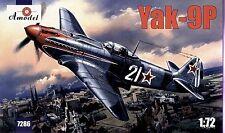 Amodel 1/72 Yakovlev Yak-9P # 7286