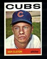 1964 Topps Don Elston #111 Chicago Cubs Well Centered EM VINTAGE Baseball Card