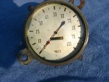 1935 DeSoto Airstream speedometer