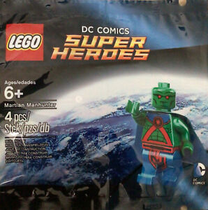 LEGO DC SUPER HEROES MARTIAN MANHUNTER - 5002126 - NEW IN POLYBAG