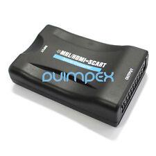 A02 Prodotto! HDMI a Scart TV Trasduttore Convertitore 1080P Guardare la Monitor