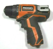 Ridgid R82005 12V Lithium-ion Cordless Compact Drill-Tool Only With Instuctions