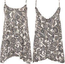 Viscose Paisley Tops & Shirts Plus Size for Women