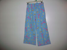 Girls Size 6/6X SIMPLY BASIC 100% Polyester Fleece Pajama Bottoms