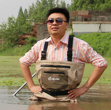 Fishing chest waders with stockingfoot breathable waterproof waders for fishing