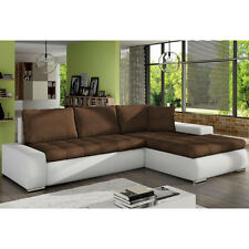 Corner Sofa Bed ORKAN MINI with Storage Container Sleep Function New