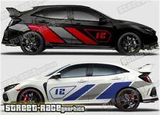 Honda Civic Rally 025 racing motorsport graphics stickers decals vinyl