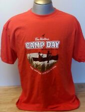 TIM HORTON'S COFFEE KIDS CAMP DAY PROMO T SHIRT SIZE XL