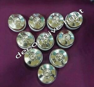 Vintage style Toggle brass cover switch porcelain brass electric button 10 Piece