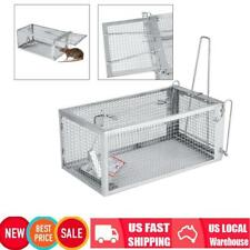Animal Trap Steel Cage for Small Live Rodent Control Mouse Rat Mice Squirrel Us