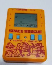 Casio vintage game watch SPACE RESCUE LCD  CASIO CG-126