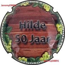 Capsule de champagne SENDRON DESTOUCHES - n°23a - Hilde 50 Jaar New